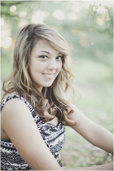 Hannah :: a wood memorial senior :: oakland city, indiana ...