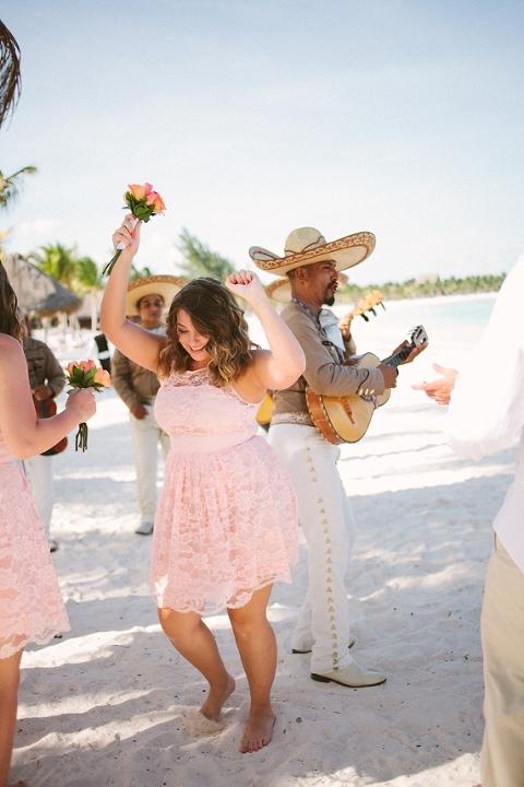 A K A Beach Destination Wedding Riviera Maya Mexico