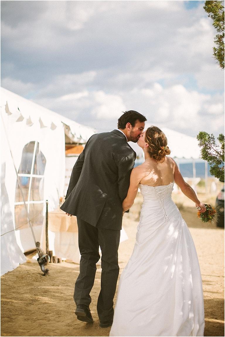 Dawn Rich A Camping Wedding Beneath Cabezon Peak