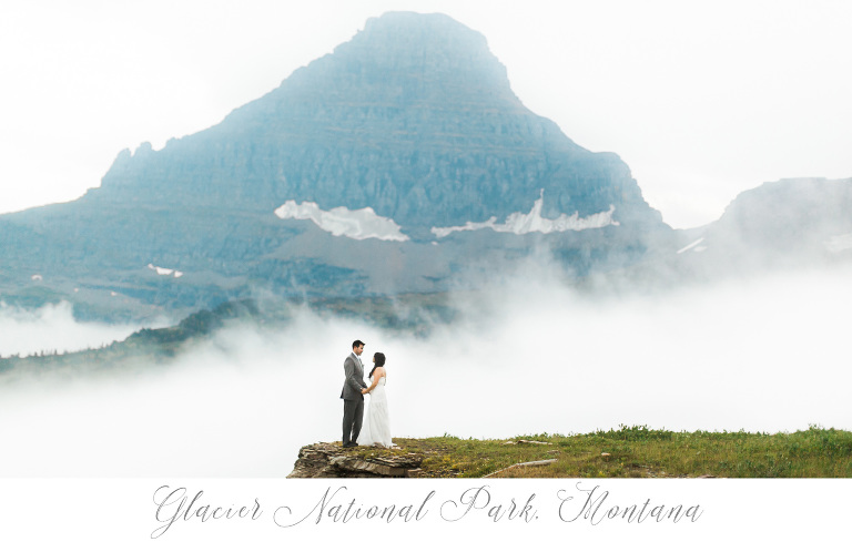Glacier National Park Destination Wedding