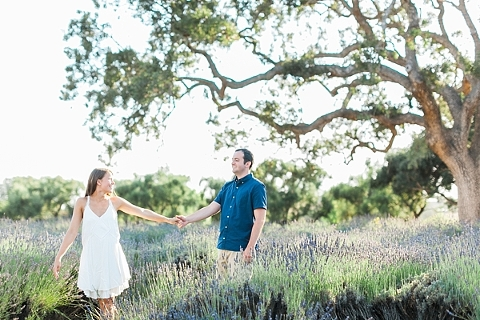 Engagement session at clairmont farms