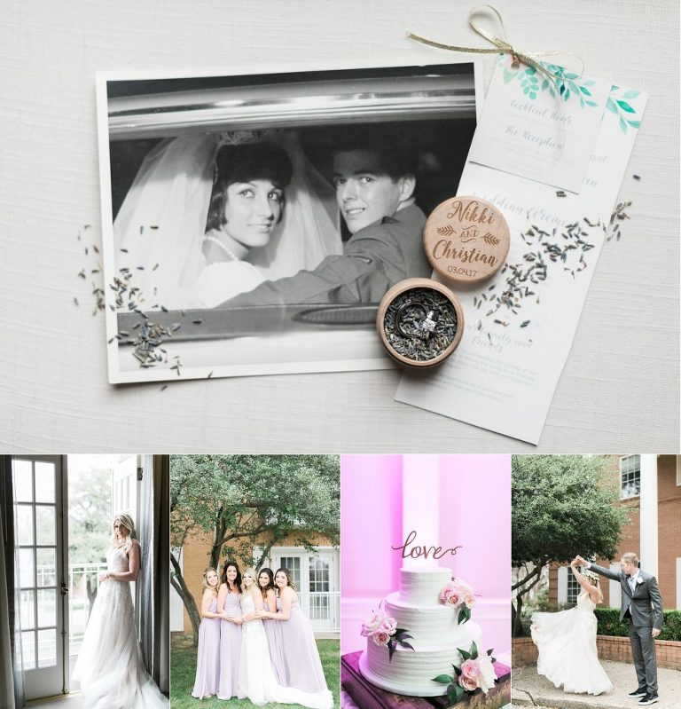Cooper Hotel Wedding in Dallas, TX | Dallas Wedding Photographer | Lavender Bohemian Goddess Wedding