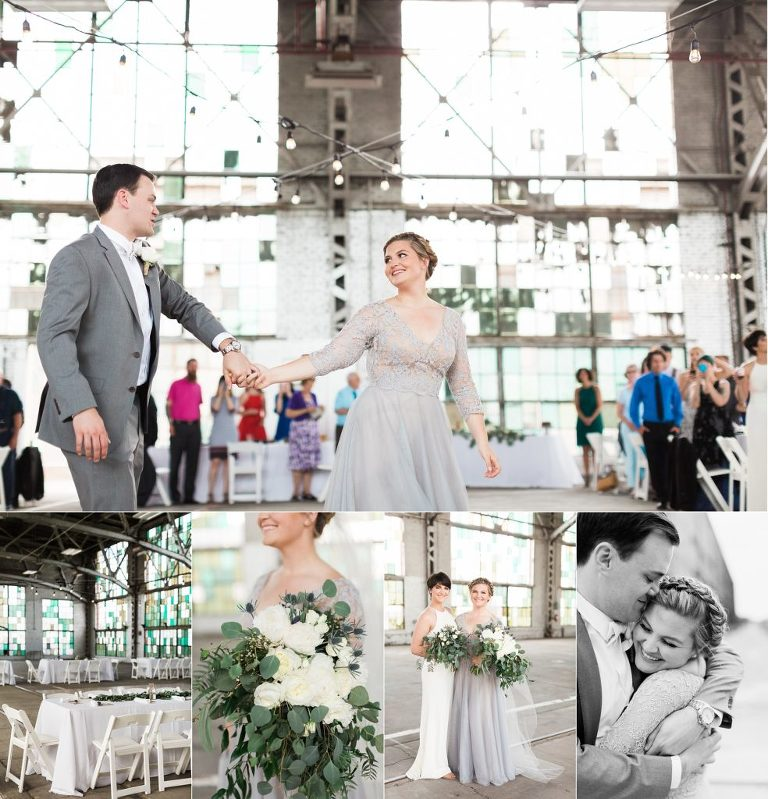 Ethereal Rail Yards Wedding at The Yards in Albuquerque, NM