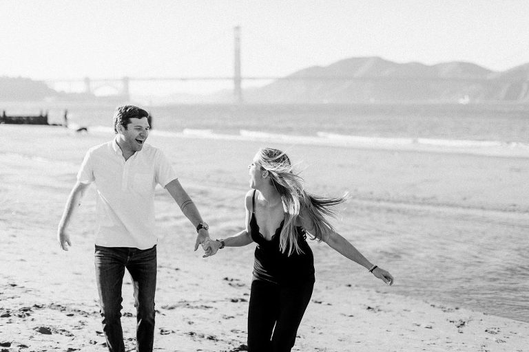Crissy Beach Engagement Session