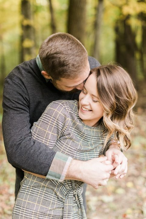 Fall Brown County State Park Engagement Session